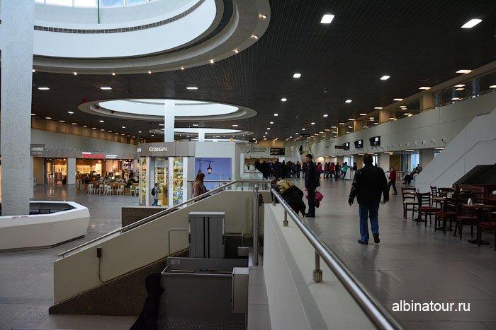 Россия аэропорт Пулково вылет в Калининград 4