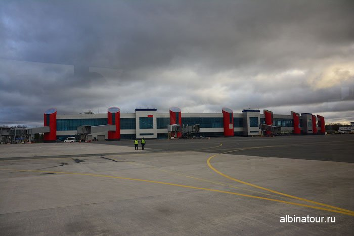 Россия аэропорт Храброво Калининград 2