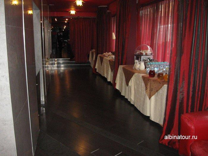 Россия  Калининград лобби бар отеля Триумф Палас 1