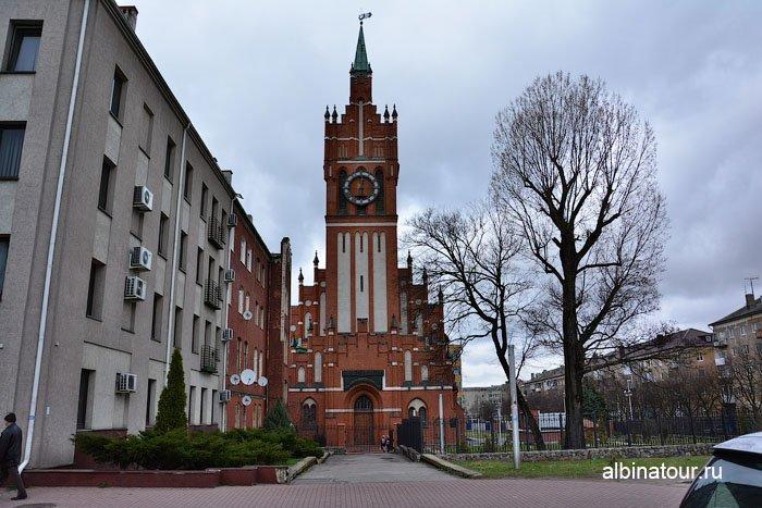Россия  Калининград  кирха Святого семейства