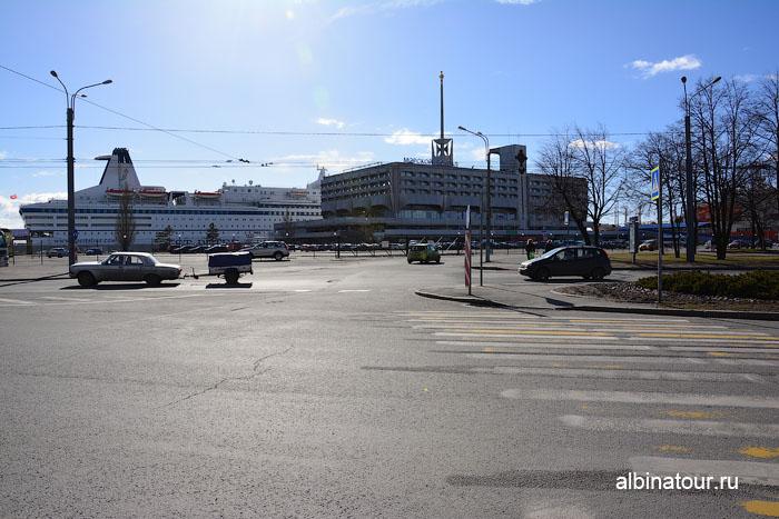 Россия Санкт-Петербург остановка у Морского вокзала 2