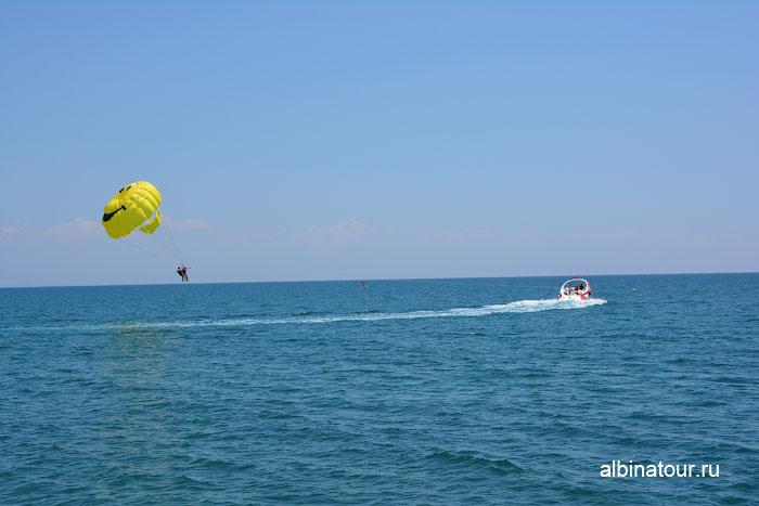 Турция Кемер отель Ма Бич  полет на парашюте 2