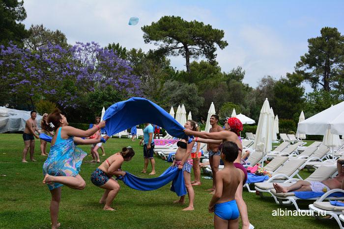 Турция Кемер отель Ма Бич  конкурс с полотенцами