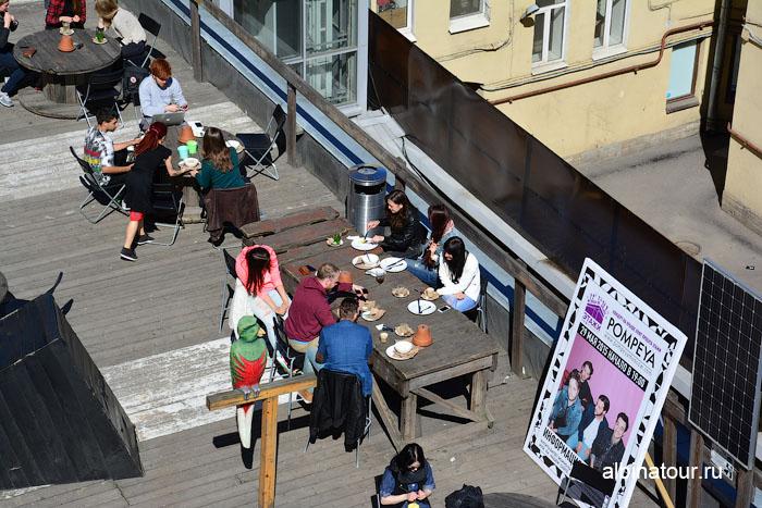 Россия Санкт-Петербург лофт проект этажи кафе 4