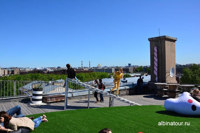 Россия Санкт-Петербург лофт проект этажи крыша 5
