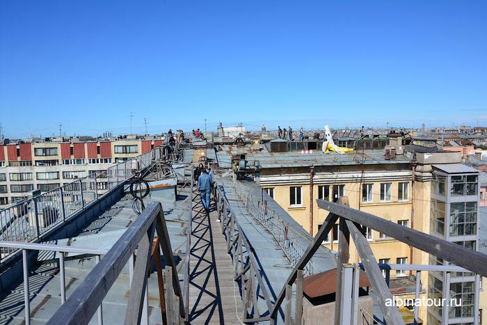 Россия Санкт-Петербург лофт проект этажи крыша 2