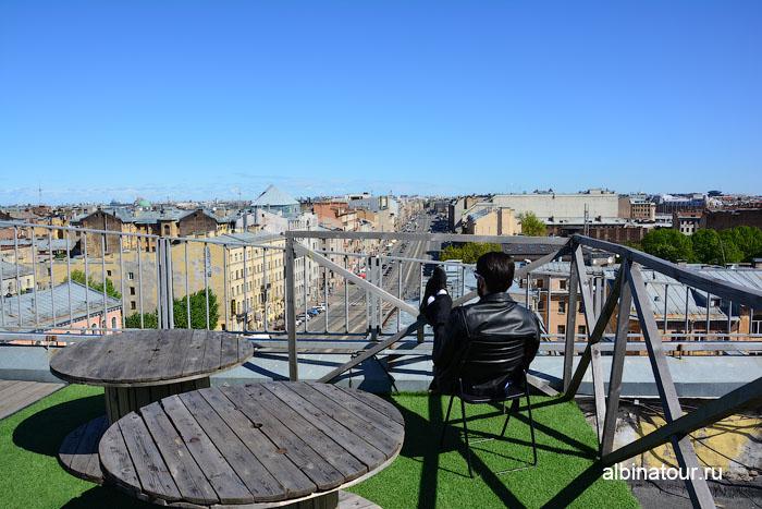 Россия Санкт-Петербург лофт проект этажи крыша 11