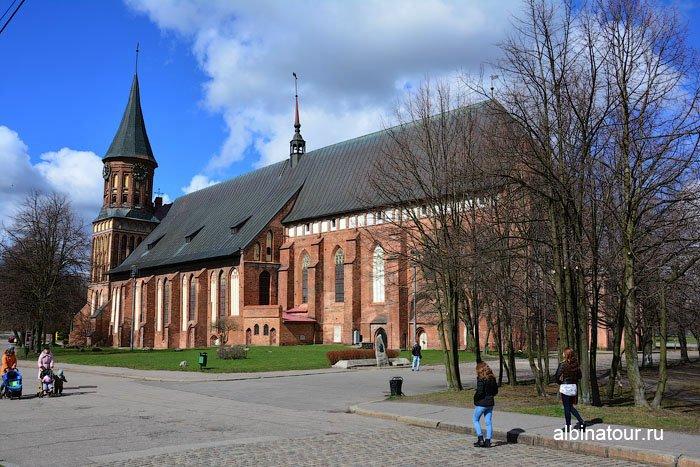 Россия Калининград Кафедральный собор