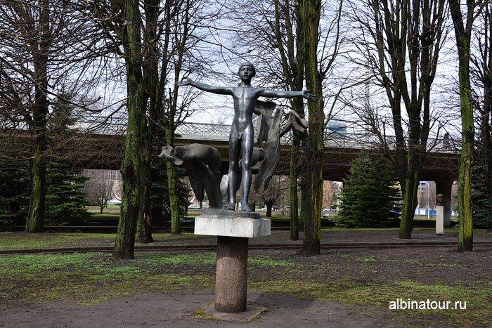Россия Калининград музей парк скульптуры 7