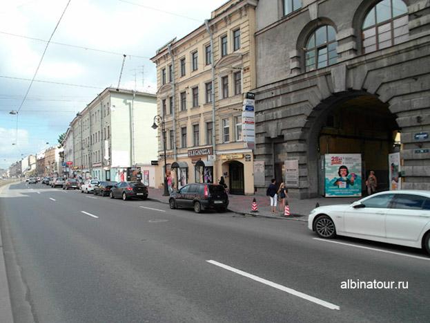 Петербург лофт проект этажи парковка на против ворот фото