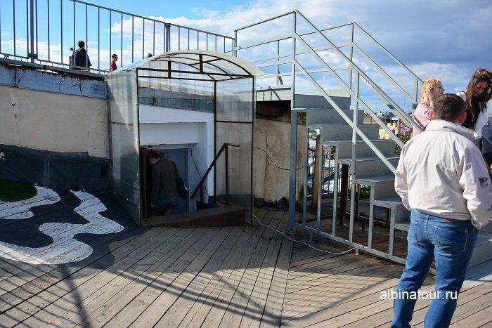 Фото Выход с крыше Санкт Петербург лофт проект Этажи