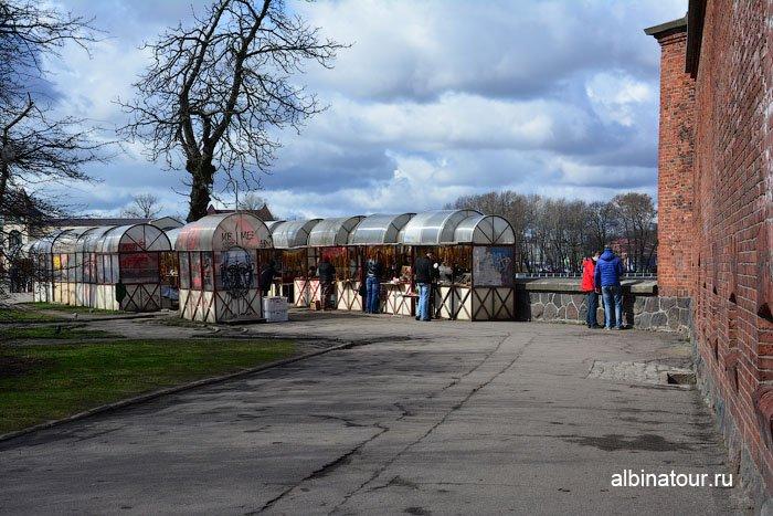Россия Калининград рынок музей янтаря