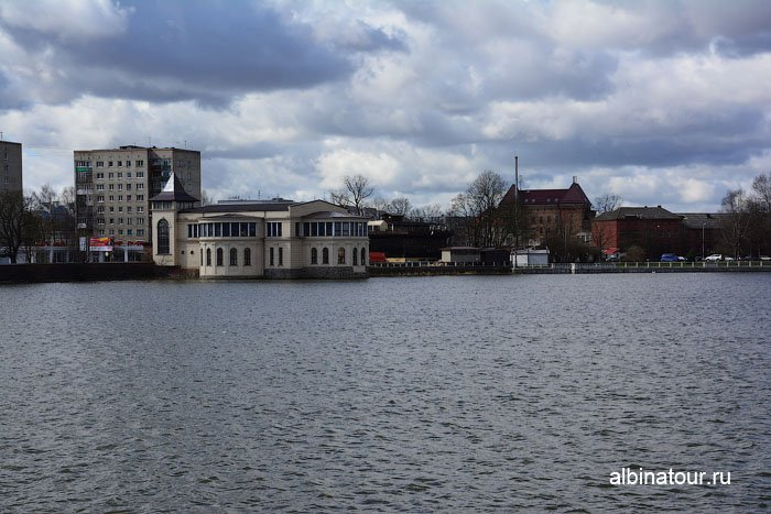 Россия Калининград вид озеро Верхнее