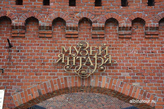 Россия Калининград музей янтаря