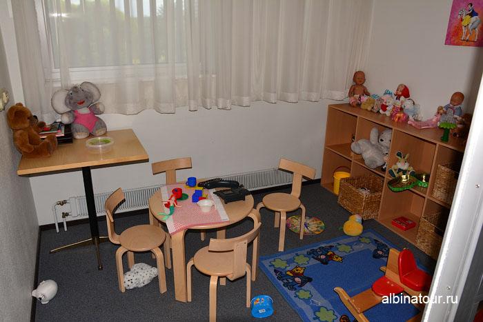 Финляндия Иматра детская комната на втором этаж  отеля Vuoksenhovi 2