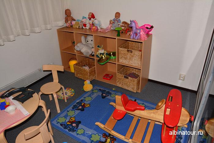 Финляндия Иматра детская комната на втором этаже  отеля Vuoksenhovi 3