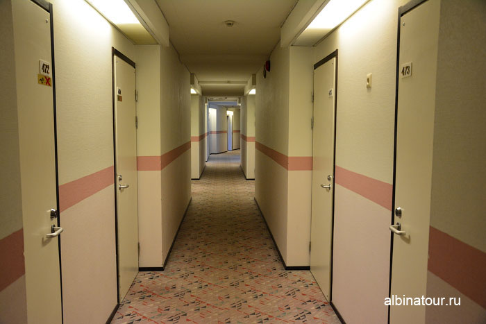 Финляндия Иматра коридор  на втором этаже  отеля Vuoksenhovi