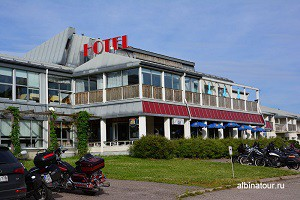 Финляндия Иматра отель Vuoksenhovi