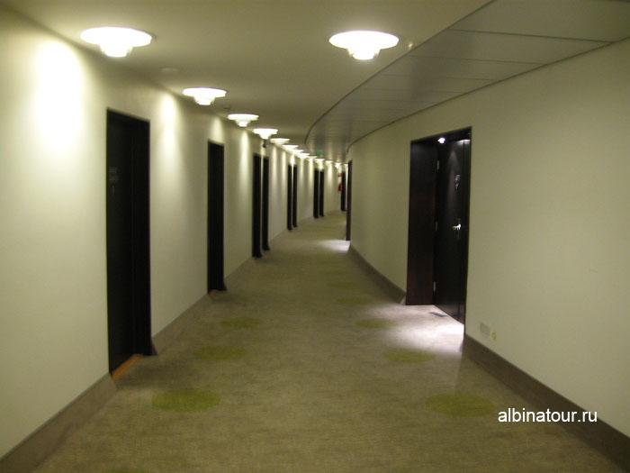 Финляндия Хельсинки отель Хилтон  коридор этажа