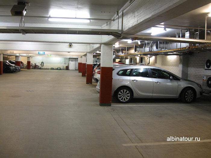 Финляндия Хельсинки отель Хилтон  парковка платная 2