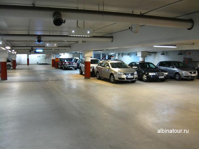 Финляндия Хельсинки отель Хилтон  парковка платная