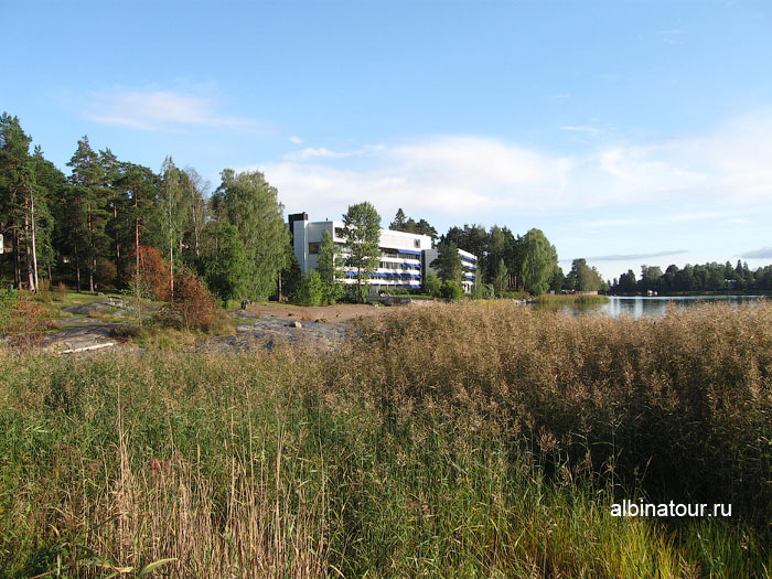 Финляндия Хельсинки отель Хилтон территория природа