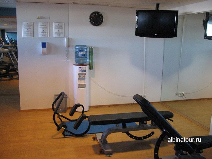 Финляндия Хельсинки отель Хилтон фитнес-зал 3