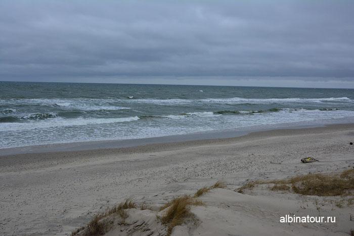 Россия Калининград Куршская коса Балтийское море в районе высота Эфа 1