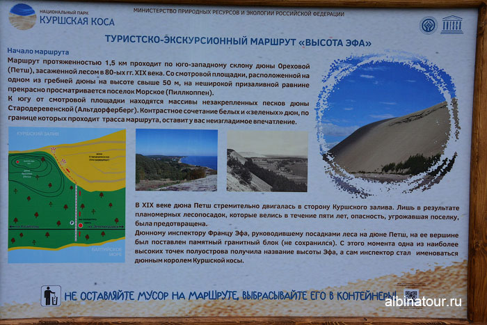 Россия Калининград Куршская коса высота Эфа 2