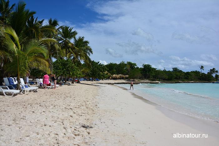 Доминикана остров Saona пляж 3