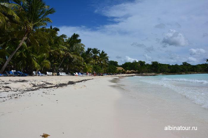 Доминикана пляж на Саоне
