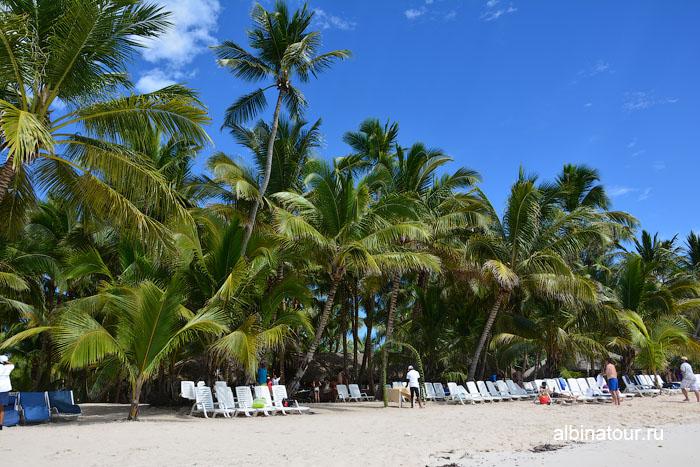 Доминикана остров Saona пляж