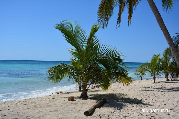 Доминикана Карибское море остров Саона прекрасный вид