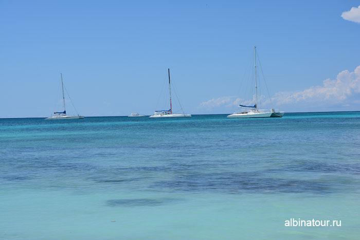 Доминикана остров Saona общественный пляж 3