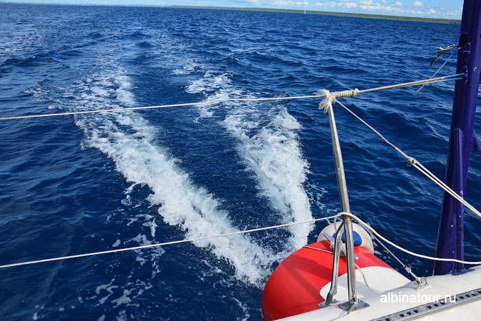Доминикана путешествие на Саону Карибское море 2