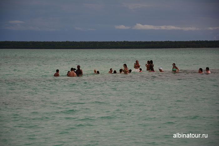 Доминикана Карибское море заповедник морских звёзд другие группы 2