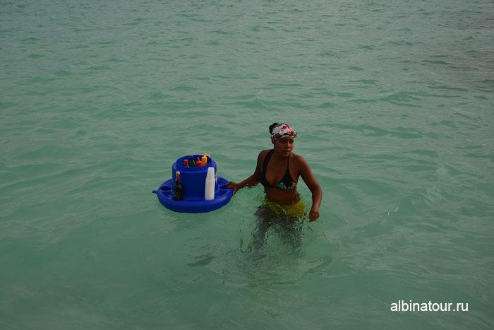 Доминикана Карибское море заповедник морских звёзд