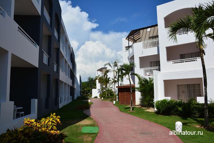 Доминикана отель be live Canoa вид на корпус 18