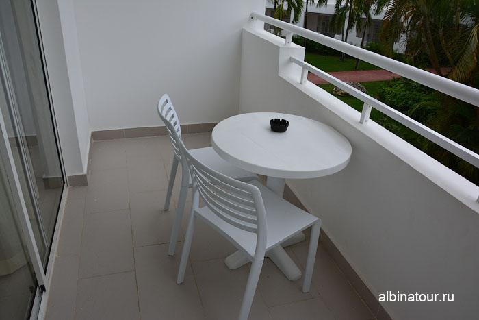 Доминикана отель be live Canoa балкон в номере