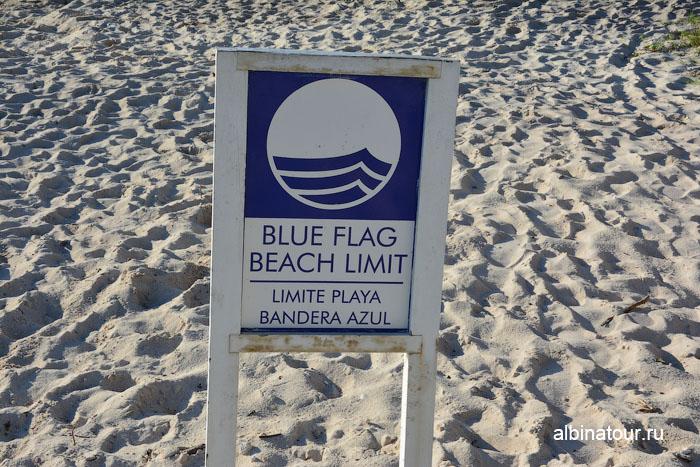 Пляж отеля Be Live Collection Canoa Hotel имеет синий флаг
