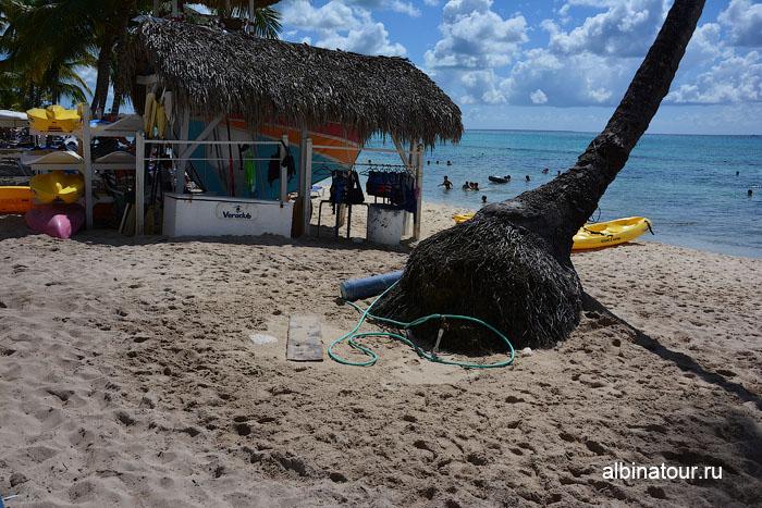 Доминикана отель Canoa пляж шланг для ополаскивания 2