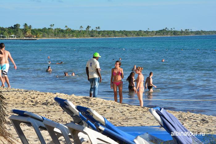 Доминикана отель Canoa пляж торговля