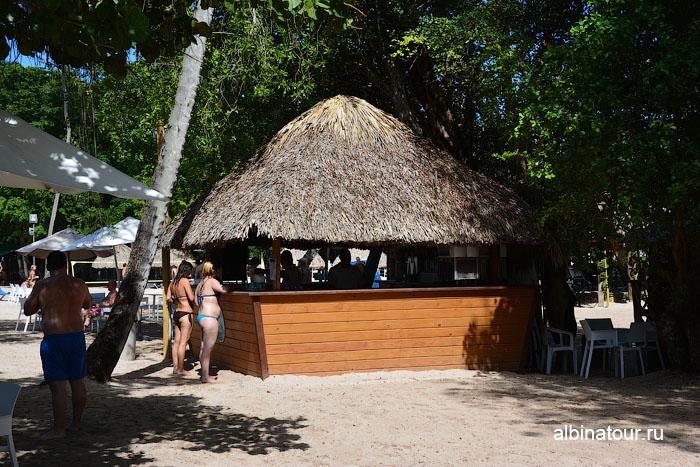 Доминикана отель Canoa пляж бар
