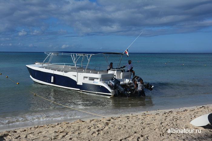 Доминикана отель Canoa катер на экскурсию