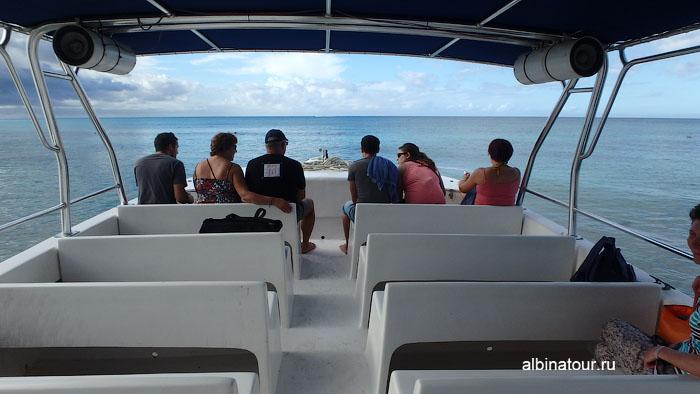 Доминикана отель Canoa катер на экскурсию 2