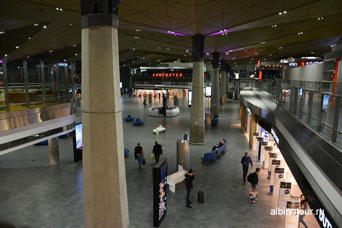 Россия аэропорт Пулково Санкт Петербург 1