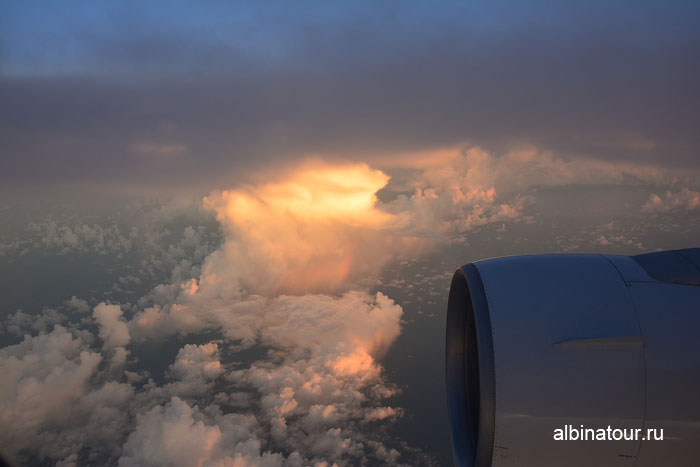 Самолет в Доминикану небо