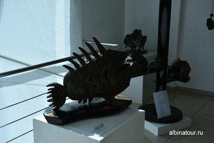 Калининград музей мирового океана главный корпус рыба ковш