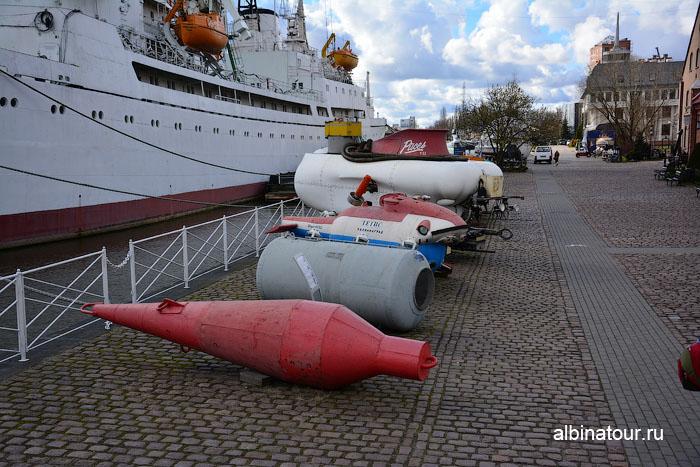 Калининград музей мирового океана аппараты для подводного плавания