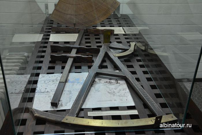 Калининград музей мирового океана судно Витязь приборы для мореплавания